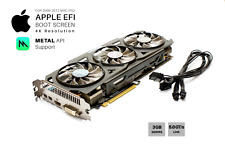  Gigabyte R9 280x OC 3GB GPU for Apple Mac Pro w/EFI, Boot screen, METAL and 4K