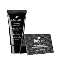 BOSCIA Set, Black Mask A Peel Off Mask 1 oz/30 g And 100 Charcoal  B. Linenes WB