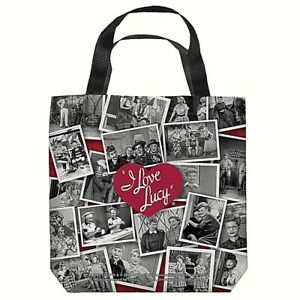 "I Love Lucy  ""Collage"" 16 in x 16 in Tote Bag - New"