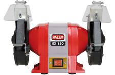 Valex Smerigliatrice Molatrice da Banco con Doppia Mola Abrasiva 250 Watt