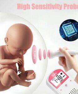 Détecteur de rythme cardiaque de bébé 2.5MHz sans rayonnement Doppler foetal Bab