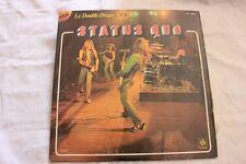 ALBUM 33 TOURS STATUS QUO DOUBLE DISQUE D OR