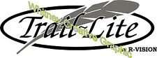 Trail Lite By R-Vision RV decal Graphic Made Fresh Not Old Stock
