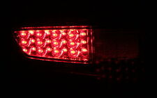 LED NEBELSCHLUSSLEUCHTEN RÜCKLEUCHTEN SET FORD FIESTA VI MK7 JA8 SMOKE BLACK NEU