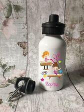 Personalised Gymnastics Drinks, Water Bottle, Girl School, Sport, Dancing 2