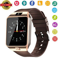 Bluetooth Wrist Smart Watch with Camera For Android Samsung S9 S8 S20 LG Xiaomi