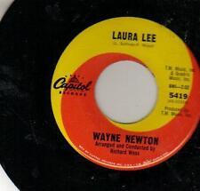 """JUKEBOX 45 single WAYNE NEWTON LAURA LEE 7 """""""