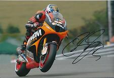 Colin EDWARDS SIGNED RARE NGM 12x8 Photo Autograph AFTAL COA Day Of Champions