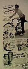 1940 Trades of America Bicycle Jackie Cooper~Cycle Ad