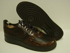 NEW Mens Sz 11 NIKE Air Force 1 Lux '07 315583 221 Crocodile Sneakers Shoes