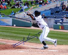 Danry Vasquez auto signed photo Whitecaps Detroit Tigers prospect photo 2