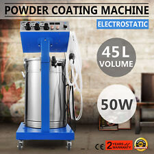 Powder Coating System Machine Equipment industrial Manual 50W WX-958 45L
