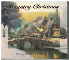 Country Christmas Cobblestone Christmas Thomas Kinkade CD Brand New