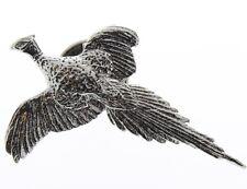 A.E. Williams Fine Brittish Pewter Lapel Hat Pin Pheasant Bird #35060