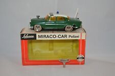 Schuco 355 101 Mercedes Polizei Miraco-car complete with super box and key