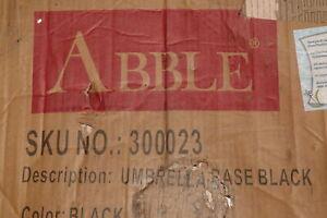Abble 30023 Umbrella Base Black