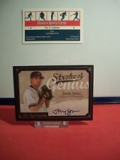 2007 UD Masterpieces Stroke of Genius Signatures #SO Jeremy Sowers