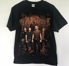 Nickelback - 2010 Usa Tour T Shirt - Tour Cities on Back