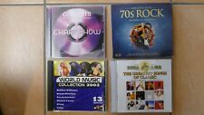CD Collection diverse Compilations (Rock, Pop, usw.) - 19 CDs