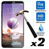 2-Pack For LG Stylo 4 Premium 9H Hardness Tempered Glass Film Screen Protector