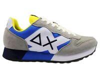 Scarpe da uomo SUN 68 JAKI Z31111 sneakers basse casual sportive comode grigio