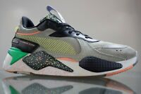 Puma RS-X FD 36983801 Mens Gray Black Suede Lace Up Low Top Sneakers Size 10