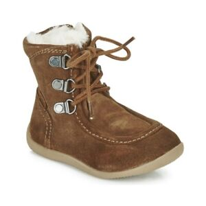 Kickers Girl Infant Boots Winter Bamara Warm Snow Casual Fashion 571933-10-116