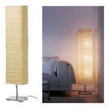 IKEA FLOOR LAMP RICE PAPER SHADE SOFT MOOD LIGHT STYLISH BRAND NEW MAGNARP 144cm