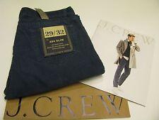 NWT AUTHENTIC J.CREW Men's 484 Slim Blue Corduroy Jean Pant Size 29 / 32