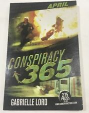 CONSPIRACY 365 APRIL GABRIELLE LORD