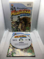 Madagascar Kartz - Dreamworks - Complete CIB - VG Cond. Disc - Nintendo Wii