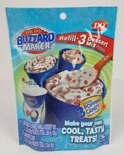 DQ Dairy Queen Blizzard Maker Refill 3-pack + popping candy NOS expired 2013