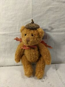 "New Vintage Hallmark Miniature Acorn Bear Adorable ourson French for Bear Cub 6"""