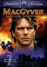 MacGyver Series 7 The Final Season DVD Region 2 Box Set PAL 5014437120434 NEW
