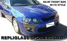 FORD FALCON BA - BF FRONT BUMPER BAR IN FG GT STYLE TO SUIT XR6 XR8 HEADLIGHTS