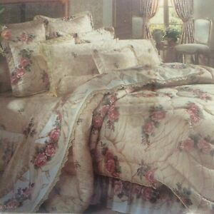 Jessica McClintock Cottagecore Lace Full Fitted Sheet Floral NEW Royalton USA