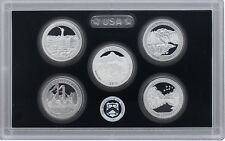 2011 S 5 Coin Silver America the Beautiful Deep Cameo Gem Proof Set