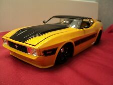 Jada  1973 Ford Mustang Mach1 1:24 Scale new  no box 2014 release yellow