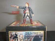 CONTE PAT201 PATRIOT BENJAMIN MARTIN FIRING PISTOL METAL TOY SOLDIER FIGURE