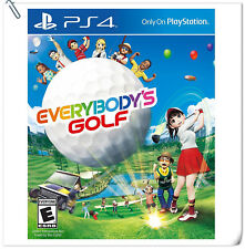 PS4 Everybody's Golf SONY PLAYSTATION SCE Sports Games