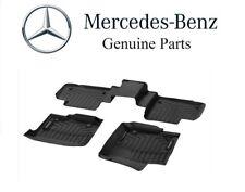 NEW Mercedes-Benz W166 X166 ML GL GLE Class All Season Floor Mat Set Liner Black