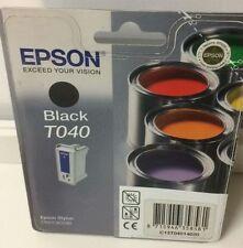Original Epson T040 / C13T04014020 Tintenpatrone Schwarz für Stylus C62/ CX3200