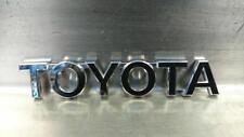 TOYOTA RAV4 MK4 XA40 2017 2.5 ibrido Posteriore PORTELLONE EMBLEM BADGE GENUINE