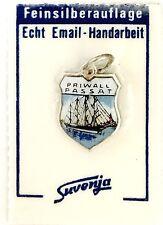 Bettelarmband Anhänger Wappen ♥ PRIWALL PASSAT SEGELSCHIFF ♥ OVP Souvenir 983