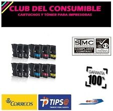 10 X CARTUCHOS BROTHER LC985XL NON-OEM DCP J125 , DCP J315W , DCP J515W