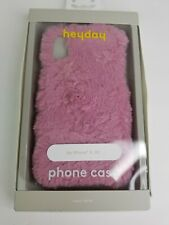 heyday  Apple iPhone XS Faux Fur Case - Pink