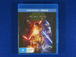 Star Wars The Force Awakens - Blu Ray - Free Postage !!