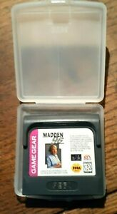 Madden 96 1996 (Sega Game Gear, 1996) Excellent Condition &  Authentic