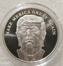 President Donald Trump 1 oz .999 silver coin Make America Great Again Limited!