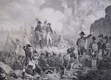 Lithographie de Madou, Napoléon,Siège de St-Jean d'Acre
